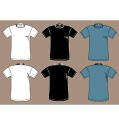 T-shirts design template vector image