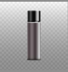 bottle sprayer for deodorant realistic vector image