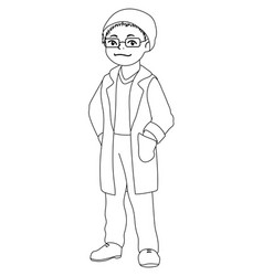 Free Doctor Pictures To Color, Download Free Clip Art, Free Clip ... | 250x238