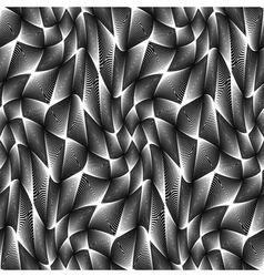 Design seamless monochrome grid geometric pattern vector