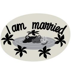 I am married a phrase expressing an idea vector