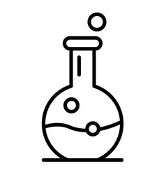 Magic potion icon outline style vector