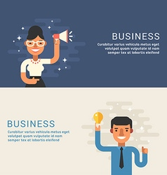 People Profession Concept Businessman Male and vector image