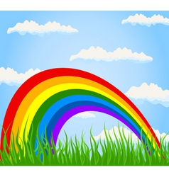 rainbow2 vector image