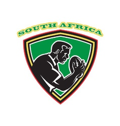 South africa rugby shield vector