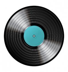 Vinyl image vector