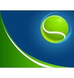 abstract sport background tennis vector image vector image