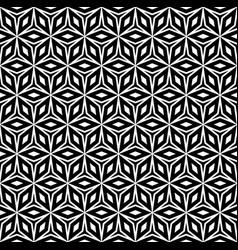 Repeat monochrome geometric texture vector