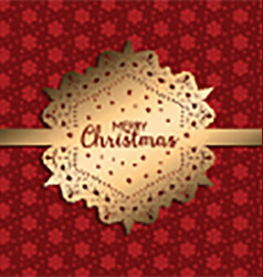 decorative christmas background 1711 vector image vector image