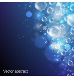 Abstract background bubbles vector