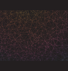 abstract geometric network background vector image