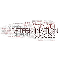 Determination word cloud concept vector
