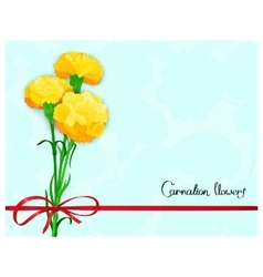 floral template design vector image