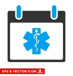 Life Star Calendar Day Eps Icon vector image