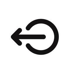 Logout icon vector