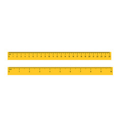 measuring rulers scale vector image