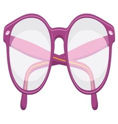 Retro glasses vector image vector image
