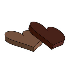 chocolate icon image vector image