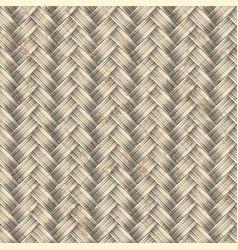 Distressed weave basket or panel vertical braid vector