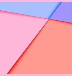 Material minimal design background vector