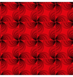 Abstract pattern with propeller-like shape vector