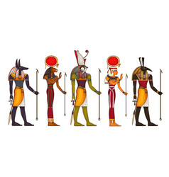 Egyptian ancient symbolreligion iconegypt vector