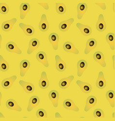 seamless abstract gradient avocado yellow vector image