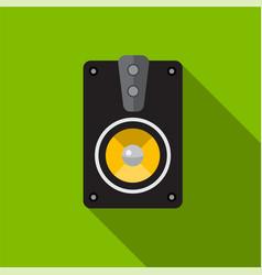 Speaker flat icon vector