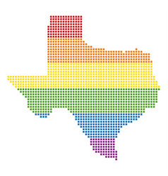Spectrum dot lgbt texas map vector