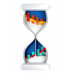 Time investment concept in vector