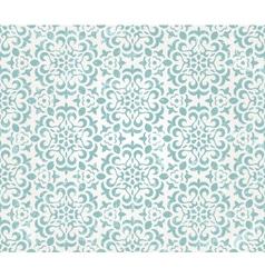 Floral retro wallpaper vector image