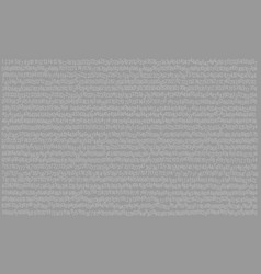 999 digits numbers abstract gray background vector image