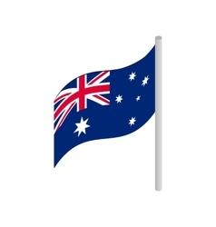 Flag of Australia icon isometric 3d style vector image