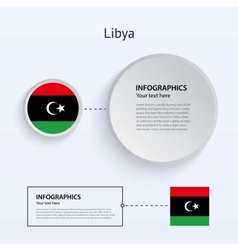 Libya country set banners vector