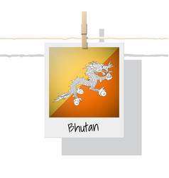 Photo of bhutan flag vector
