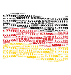 Waving german flag collage of success texts vector