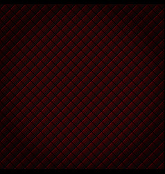 abstract black and red subtle lattice square vector image