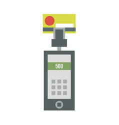 atm payment card terminal vector image