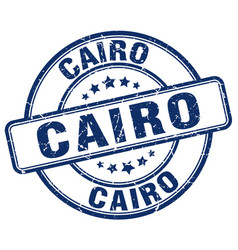Cairo stamp vector