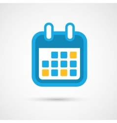 Calendar Icon - month vector image