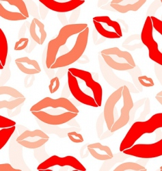 lips prints vector image