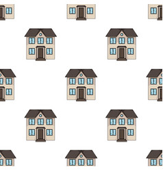 Private cottagerealtor single icon in cartoon vector