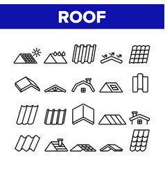 Roconstruction collection icons set vector