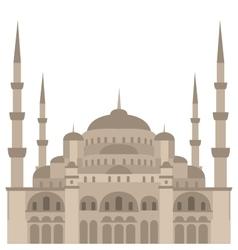 The Blue Mosque Sultanahmet Camii Istanbul vector