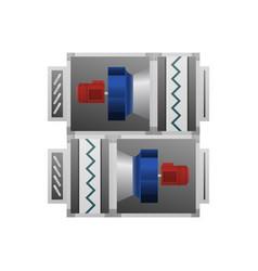 ventilating fan installation vector image