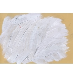 Grey abstract hand painted watercolor daub vector image
