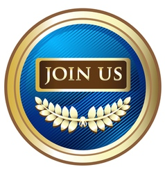 Join Us vector image vector image