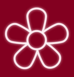 a picture of a flower vector image