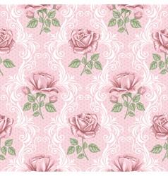 rose wallpaper vector image vector image