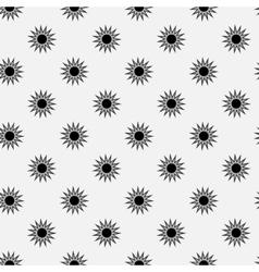Stars geometric seamless pattern 904 vector image vector image